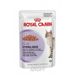 Royal Canin Sterilised (в соусе) 85 гр