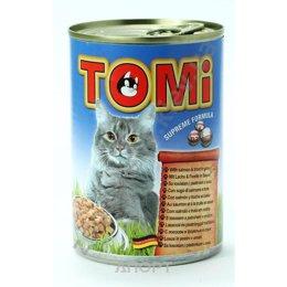 TOMi Консервы с лососем и форелью 0,4 кг