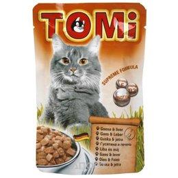 TOMi Паштет с гусем и печенью 0,1 кг