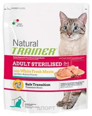 Фото Trainer Natural Adult Sterilised White Meat 0,3 кг