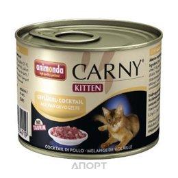 Animonda Carny Kitten (куринный коктейль) для котят 200 г