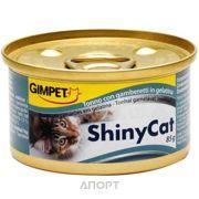 Фото Gimpet ShinyCat тунец с креветками 70 г