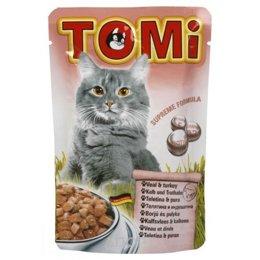 TOMi Консервы с телятиной и индейкой 0,1 кг