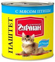 Фото Четвероногий Гурман Паштет с мясом птицы для котят 0,24 кг