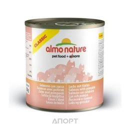 Almo Nature Classic Adult Cat Salmon and Pumpkin 0,28 кг