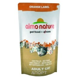 Almo Nature Orange Label Adult Cat Chicken 0,105 кг