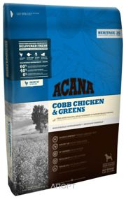 Фото ACANA Heritage Cobb Chicken & Greens 6 кг