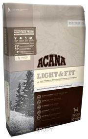 Фото ACANA Heritage Light & Fit 2 кг