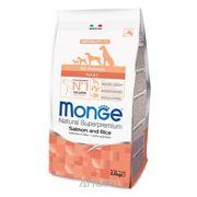 Фото Monge Speciality лосось с рисом 2,5 кг