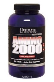 Фото Ultimate Nutrition Amino 2000 100 tabs