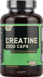 Фото Optimum Nutrition Creatine 2500 Caps 100 caps