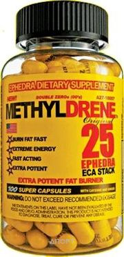Фото Cloma Pharma Methyldrene 25 100 caps