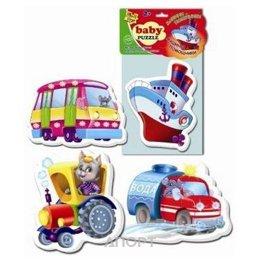 Vladi Toys Беби пазлы Машины-помощники (VT1106-08)