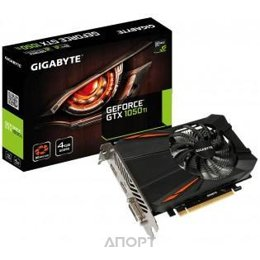 Gigabyte GeForce GTX 1050 Ti D5 4Gb (GV-N105TD5-4GD)