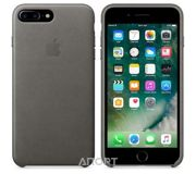 Фото Apple iPhone 7 Plus Leather Case - Storm Gray (MMYE2)