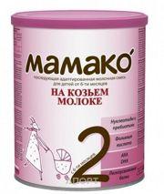 Фото МАМАКО Молочная смесь на основе козьего молока 2, 6-12 мес. 800 г