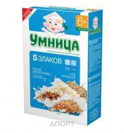 Фото Умница Каша молочная 5 злаков с 6 мес. 200 г