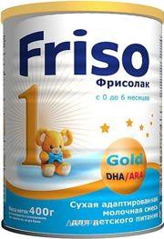 Фото Friso Смесь Фрисолак 1 Gold, 400 г