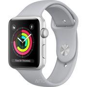 Фото Apple Watch Series 3 (GPS) 42mm Silver Aluminum w. Fog Sport B. - Silver