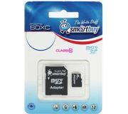 Фото Smartbuy microSDHC Class 10 + SD adapter 32Gb