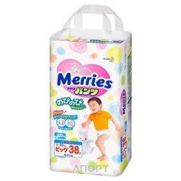 Merries Подгузники-трусики XL 12-22 кг (38 шт.)  Купить в Челябинске ... 4e81e6e77c2