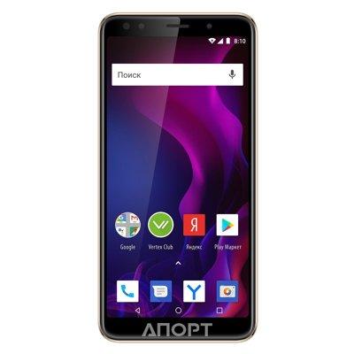 7086858cae850 Смартфон Vertex Impress Zeon 4G, 8 ГБ, графит Impress Zeon - доступный 4G  смартфон в металлическом корпусе с ярким безрамочным дисплеем и поддержкой  карт ...
